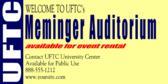 Auditorium Available