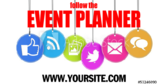Event Planning Service Follow Me