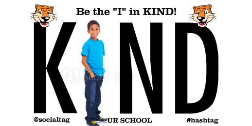 I In Kind Banner Sized for Junior High Students