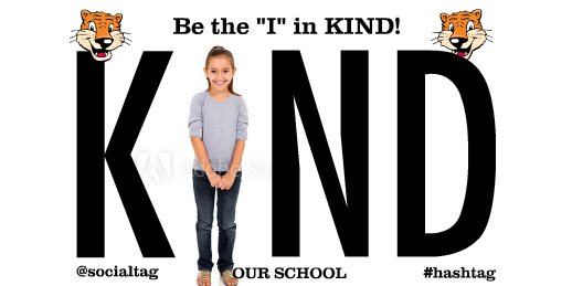 I In Kind Banner Sized for Elementary Students