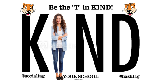 I In Kind Banner Sized for High School Students