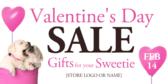 Valentine's day sale retail