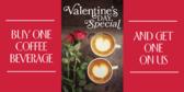 valentine's day coffee shop