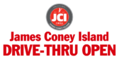 James Coney Island Drive Thru Sign 3x6