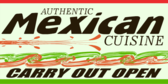 Mexican Food Carry Out Open