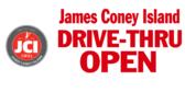 James Coney Island Drive Thru Sign 3x7