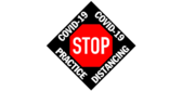 COVID-19 Social Distance Alert Floor Graphic