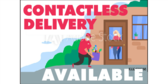 Contactless Delivery Available Sign