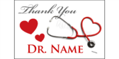 Thank you doctor (customized name)