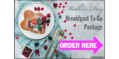 Mothers Day Breakfast Package To Go Yard Sign