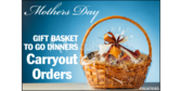 Mothers Day Gift Basket To Go Yard Sign