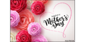 Happy Mothers Flowers Yard Sign