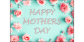 Happy Mothers Day Roses Yard Sign