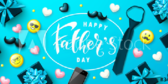Happy Father's Collage Designed Banner