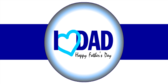 Happy Father's Day I Love Dad Banner