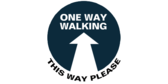 One Way Aisle Walking