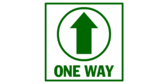 One Way Aisle Directional