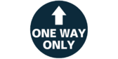 One Way Only Feet Floor Graphics