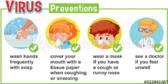 Elementary School Corona Virus Prevention Banner