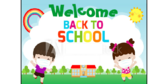 Elementary Back To School Wearing Mask Banner
