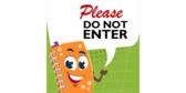 Elementary School Do Not Enter Banner