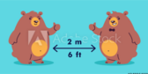 Two Bears Social Distance Banner